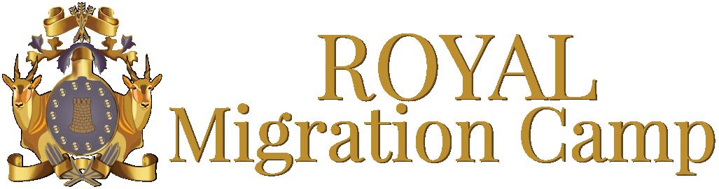 The Royal Migration Camp Logo